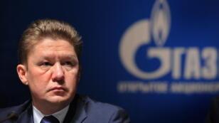 Alexeï Miller, le PDG du géant russe de l'énergie Gazprom
