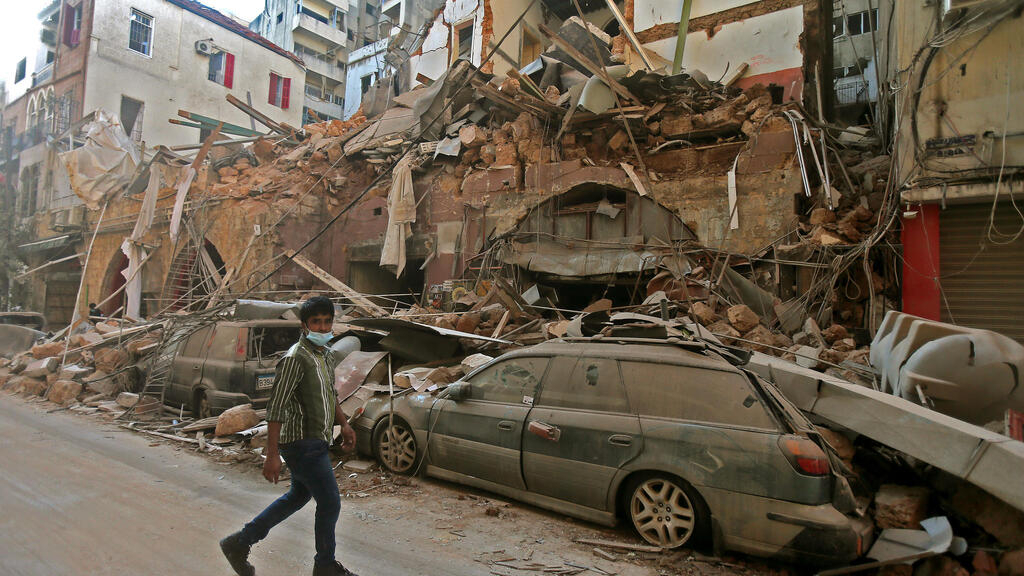 In pictures: Lebanon's capital in ruins after Beirut port explosion
