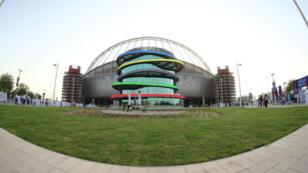 Le Khalifa International Stadium à Doha, au Qatar, le 19 mai 2017.