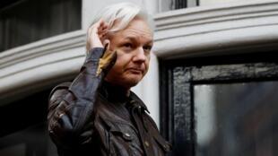 Julian Assange est bloqué dans l'ambassade équatorienne à Londres depuis 2012.