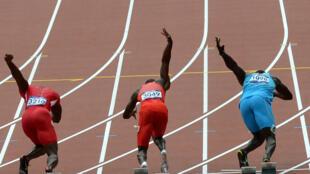 Des athlètes lors des Jeux olympiques de Londres en 2012.