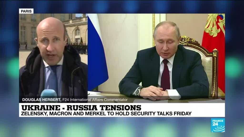 2021-04-16 13:01 Paris talks seek to defuse growing Russia-Ukraine tensions