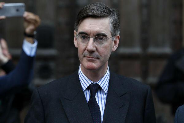 Jacob Rees-Mogg a pris la tête de la fronde contre Theresa May.