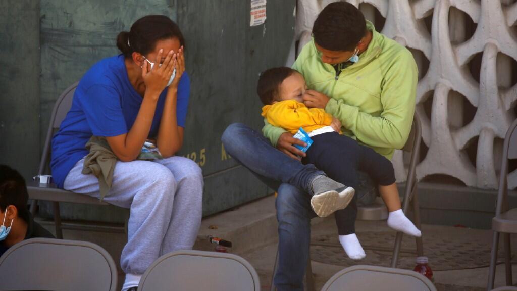 Poverty and insecurity are the main causes of massive migration from this Central American region to the United States.  In Ciudad Juárez, Mexico, on April 5, 2021.