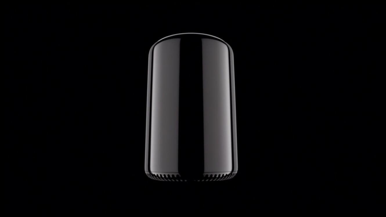 Le Mac Pro d'Apple présenté en 2013.