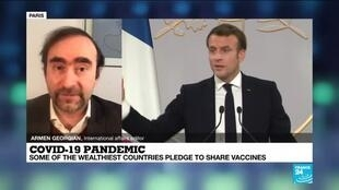2021-02-19 13:10 Coronavirus pandemic: Some of the wealthiest countries pledge to share vaccines