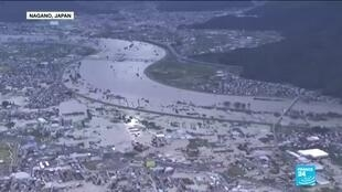 2019-10-13 21:23 Japan launches major rescue operations after powerful typhoon floods