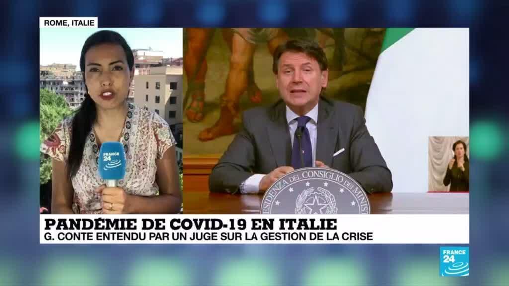 2020-06-12 15:12 Italie : le Premier ministre Conte entendu par un magistrat sur la gestion de la crise du Covid-19