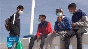 ريبورتاج فرانس24 سبتة إسبانيا المغرب الهجرة