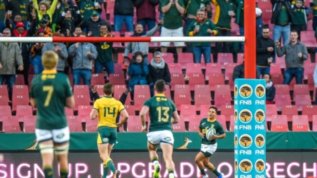 Two-try debutant Herschel Jantjies stars for Springboks