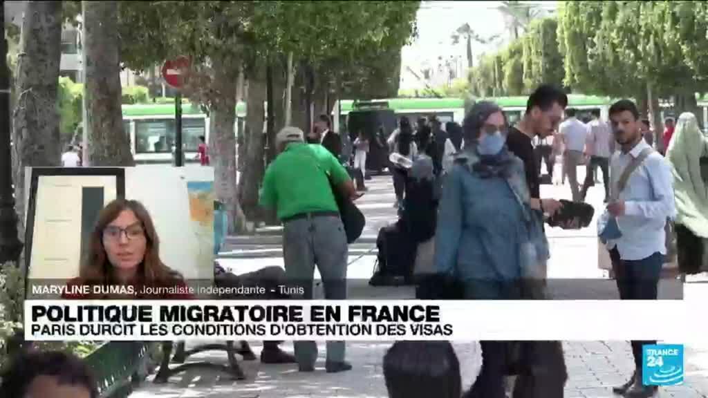 2021-09-28 12:06 Politique migratoire en France : Paris durcit les conditions d'obtention des visas