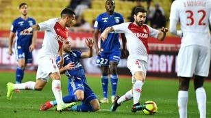 Fabregas was at fault for Strasbourg's third goal as Monaco were thrashed 5-1