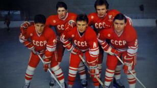 """""""The Russian Five"""" considéré comme la meilleure équipe de hockey de tous les temps."""