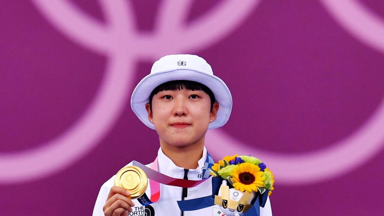 Tokyo 2021 : An San, trois médailles d'or et des critiques sur sa coupe de cheveux