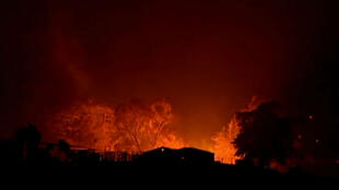 Fires create 'catastrophic' conditions in New South Wales, Australia.