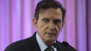 Rio de Janeiro mayor Marcelo Crivella has been arrested as part of an investigation into corruption