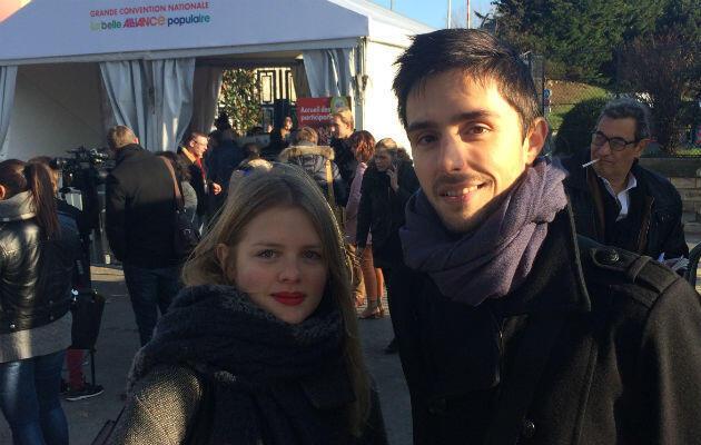 Llona et Vincent, jeunes militants de Seine-et-Marne, espèrent que le renoncement de François Hollande insufflera une dynamique auprès du peuple de gauche.