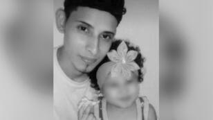 Óscar Alberto y su bebé Valeria murieron intentando huir de El Salvador.