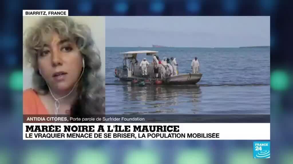2020-08-12 08:04 Marée noir à l'île Maurice: la pire catastrophe écologique de son histoire