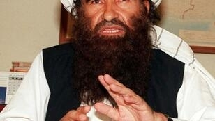 File picture taken in 2001 of Jalaluddin Haqqani