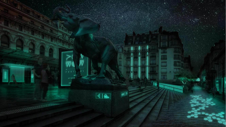 Grâce à son éclairage inspiré de la nature, Glowee entend bien réduire la facture énergétique des grandes villes.