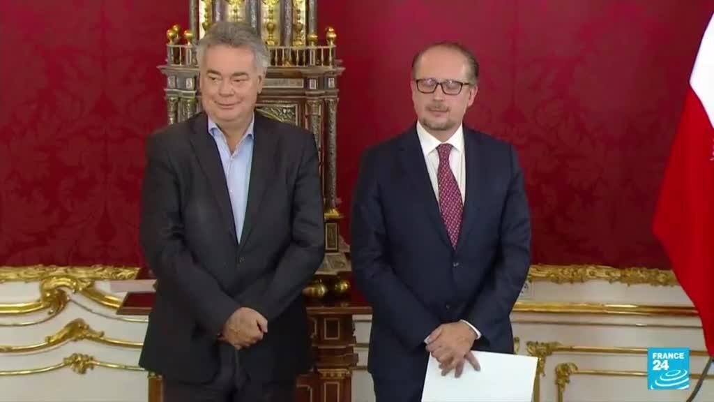 2021-10-11 18:08 Autriche : Alexander Schallenberg investi à la chancellerie