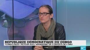 Sonia Rolley, sur le plateau de France 24, mercredi 28 novembre 2018.