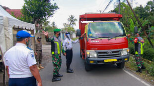 Indonesian officials have blocked access to the Darussalam Blokagung Islamic boarding school in Banyuwangi, East Java after hundreds of students tested positive for the coronavirus