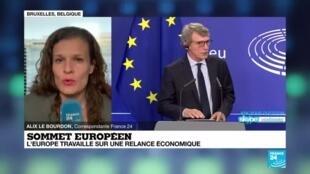 2020-06-19 16:01 Sommet européen : des divisions au sein de l'Union sur un plan de relance