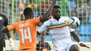 كأس الأمم الأفريقية: مباراة منتخب مالي وساحل العاج