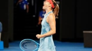 Russia's Maria Sharapova claimed her biggest scalp since completing a drugs ban in 2017 when she rolled defending Australian Open champion Caroline Wozniacki on January 18, 2019