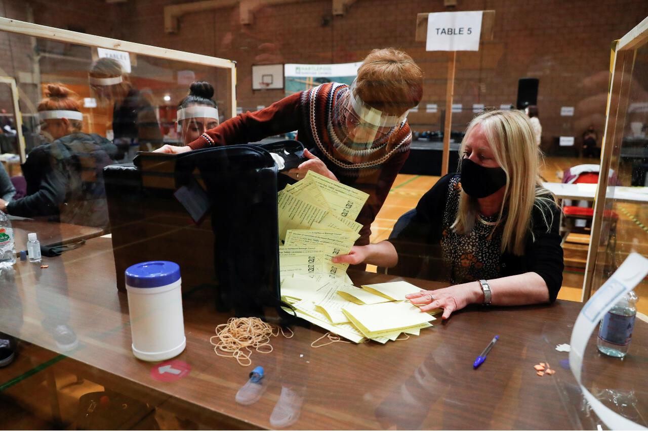 UK elections Hartlepool