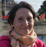Marie-Camille Richard, 31 ans, l'une des responsables des relations presse de La Manif' pour tous