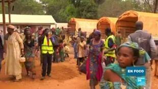 En foco refugiados centroafricanos