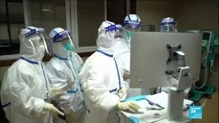 2020-02-18 10:03 Coronavirus : Les infirmiers de Wuhan, épuisés par leur conditions de travail