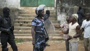 Violences post-électorales à Libreville, la capitale gabonaise, le 2 septembre 2016.