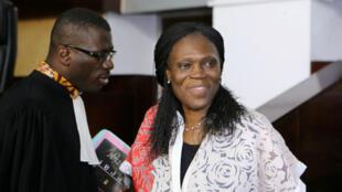Imagen de archivo. La ex primera dama de Costa de Marfil, Simone Gbagbo, quien estuvo acusada de crímenes de lesa humanidad y crímenes de guerra por su presunta participación en la guerra civil de 2011 en su país. Abidjan, Costa de Marfil, el 31 de mayo de 2016.
