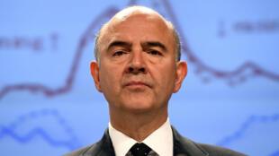 Le commissaire européen Pierre Moscovici a annoncé que le déficit français risquait encore de se creuser.