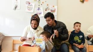 عائلة أفغانية مهاجرة في ميونيخ