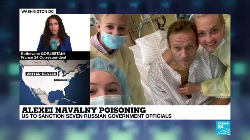 2021-03-02 16:01 US imposes sanctions on Russia over poisoning of Navalny