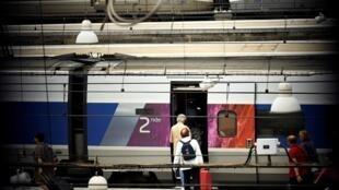 À la gare Montparnasse à Paris, le 1er août 2017.