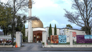 The Al Noor Mosque, which stands opposite the Hagley Oval cricket ground in Christchurch