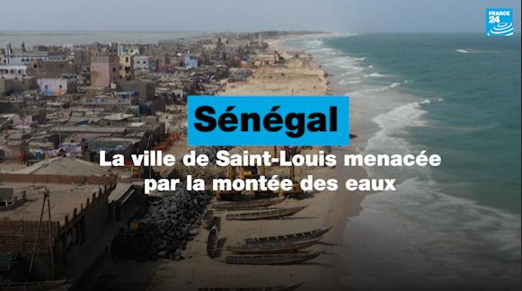 Sénégal : Saint-Louis confrontée à la montée des eaux