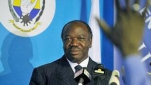 الرئيس الغابوني علي بونغو