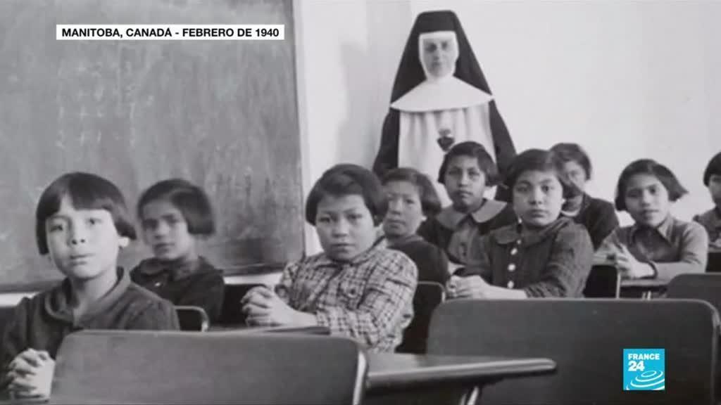 2021-05-29 14:38 Canadá: encuentran restos de 215 niños en antiguo internado para menores indígenas