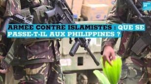 Depuis le 23 mai 2017, l'armée philippine combat des groupes islamistes liés à l'organisation État islamique.