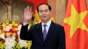 Tran Dai Quang, le 23 mars 2018, au Palais présidentiel à Hanoï.