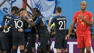 Les Bleus sont en finale de la Coupe du monde 2018.
