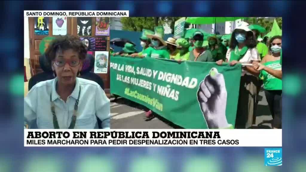 """2021-05-24 14:38 Sergia Galván: """"El 13% de la muerte materna en República Dominicana se debe al aborto de riesgo"""""""