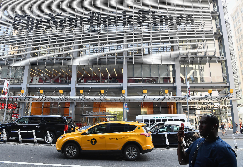 The New York Times a remporté trois prix Pulitzer en 2020.
